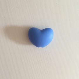 Heart - china blue