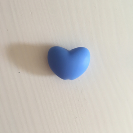 Hartje - china blauw