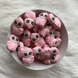 Oehoe kraal - licht roze