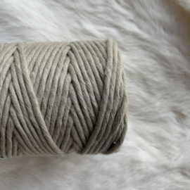 Macramé single twist - beige