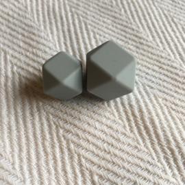 Kleine hexagon - licht grijs