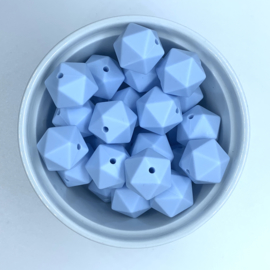 Icosahedron 17mm  - zacht blauw