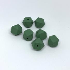 Kleine hexagon - leemgroen