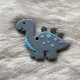 Brachiosaurus bijtfiguur - donker grijs