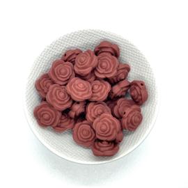 Kleine bloem - roestbruin
