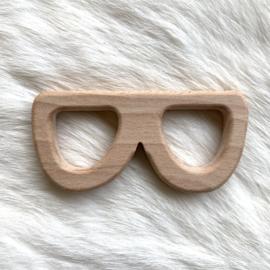 Houten bijtfiguur - zonnenbril