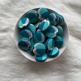 Strandbal kraal - mint/turquoise tinten