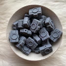 Camera kraal - donker grijs