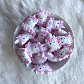 Unicorn kraal - baby roze