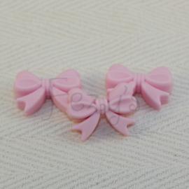 Strikje - zacht roze