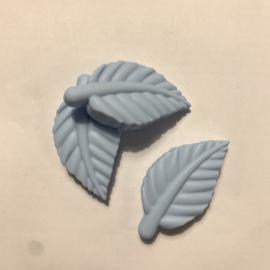 Blad kraal - zacht blauw