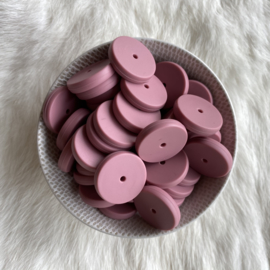 Coin bead 25mm - blush