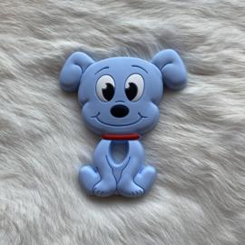 Dog teether - light blue