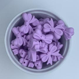 Strikje - lavendel