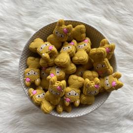 Happy llama kraal - mosterd