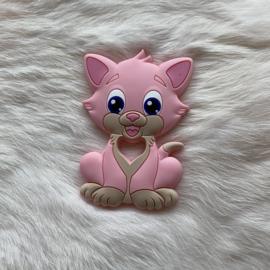 Cat teether - light pink
