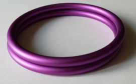 Slingrings size L - matte purple