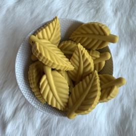 Blad kraal - mosterd geel