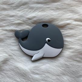 Blije walvis figuur - donkerder grijs