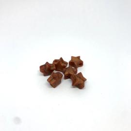Kleine ster - parelmoer koper