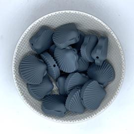 Sint Jacobs schelp kraal - donker grijs