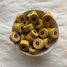 nazar oog kraal - mosterd