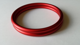Slingrings size M - matte red
