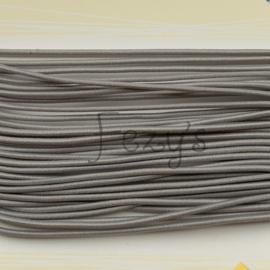Elastisch koord 1,5mm - grijs