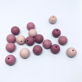 15mm - oud roze