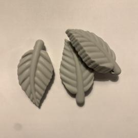 blad kraal - licht grijs
