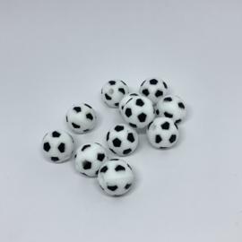 15mm - voetbal zwart