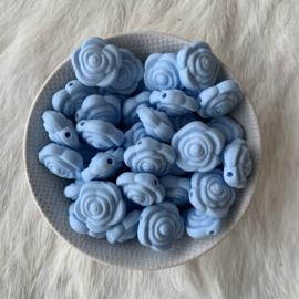 Kleine bloem -  zacht blauw