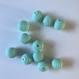 15mm striped - aruba blue