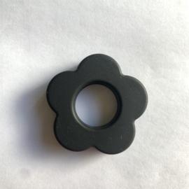 Bloemen hanger - zwart