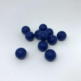 Veiligheids kraal 15mm - sapphire blauw
