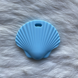Sint jacobsschelp bijtfiguur - baby blauw