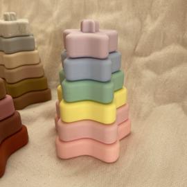 Stapeltoren sterretje - pastel