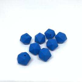 Icosahedron 17mm - jeans blauw