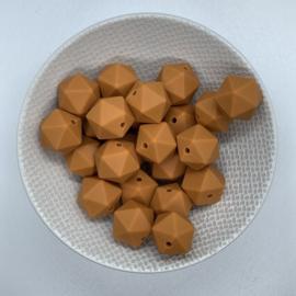 Kleine icosahedron - golden ochre