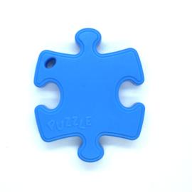 Puzzelstukje - blauw