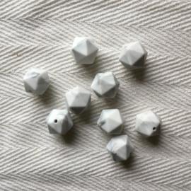 Icosahedron 17mm - marmer