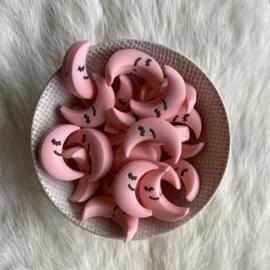 Slapend maantje kraal - licht roze
