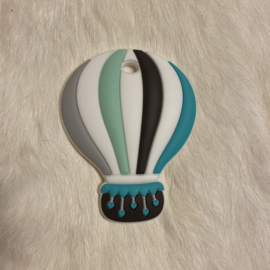 Air balloon teether - turquoise/mint