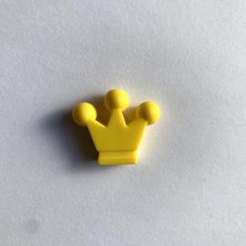 Kroontje kraal - geel