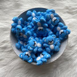 Beren kraal - hemelsblauw