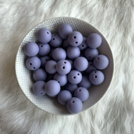 Safety bead 15mm - dark lilac