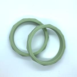 Armband siliconen - lint