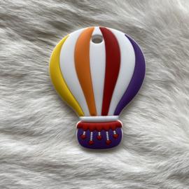 Air balloon teether - purple/red