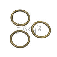 O-ring metaal 25mm - brons