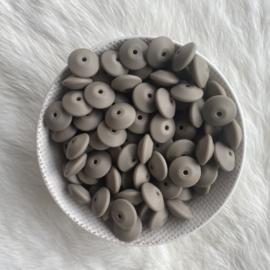 Discus 15mm - dark oat